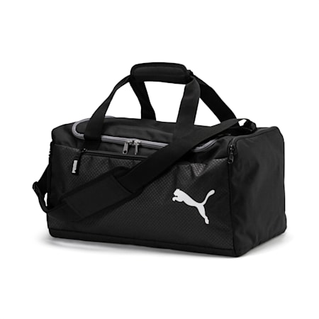 Fundamentals Sports Duffle Bag, Puma Black, small-SEA