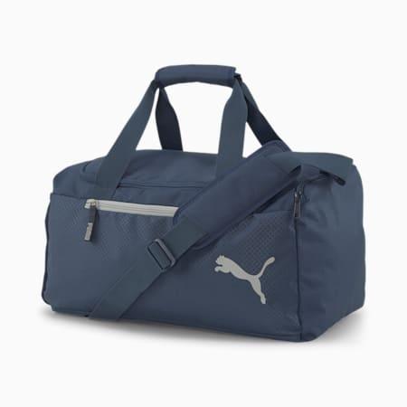 Fundamentals Sports Duffle Bag, Dark Denim, small-IND
