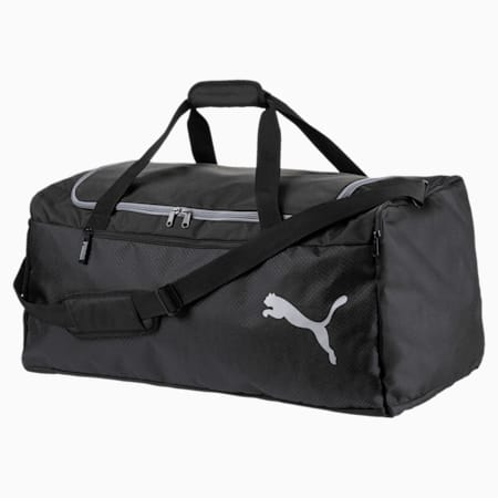 Fundamentals Large Gym Bag, Puma Black, small