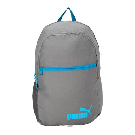 Puma Basic Backpack, QUIET SHADE-Hawaiian Surf, small-IND