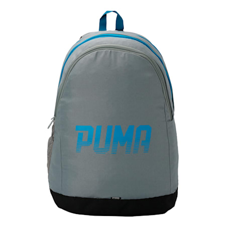 PUMA West Backpack, Quarry-Hawaiian Surf, small-IND