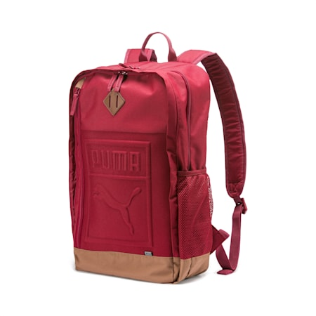 Square Backpack, Rhubarb, small-IND