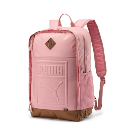 Square Backpack, Bridal Rose, small