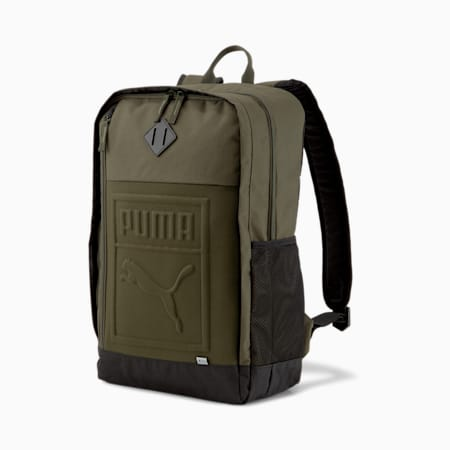 Square Backpack, Forest Night, small-SEA