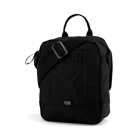 Portable Shoulder Bag, Puma Black, small