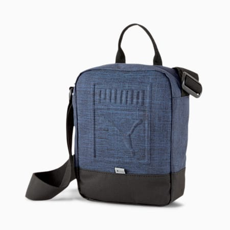 Portable DuraBASE Shoulder Bag, Peacoat-Heather, small-IND