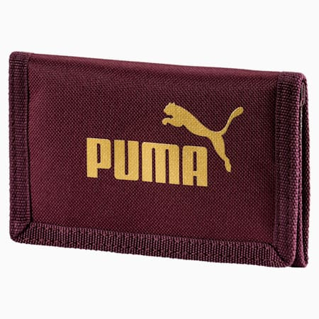 PUMA Phase Woven Wallet, Fig, small-IND