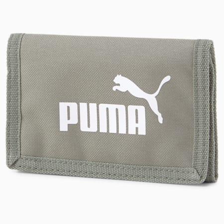 PUMA Phase geweven portemonnee, Ultra Gray, small