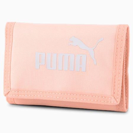 PUMA Phase Woven Wallet, Apricot Blush, small
