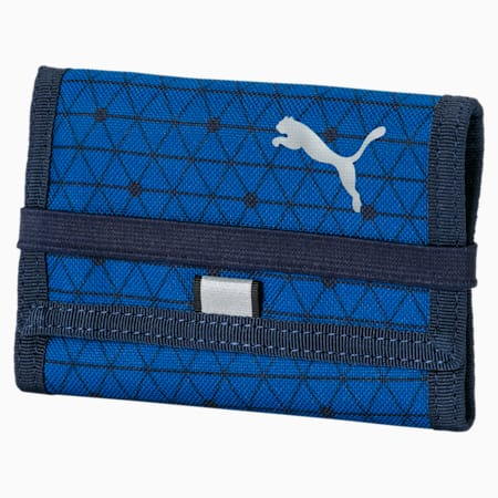 PUMA Beta Wallet, Galaxy Blue-Peacoat, small-IND