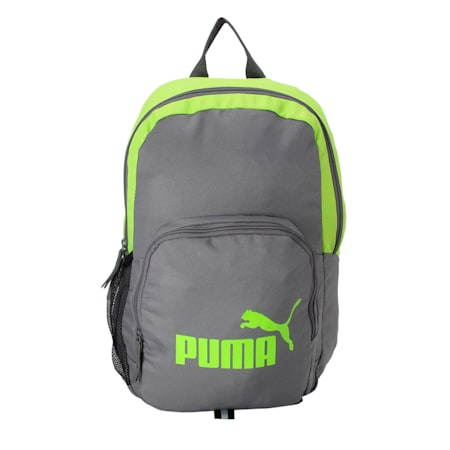 PUMA Phase Backpack, Acid Lime, small-IND