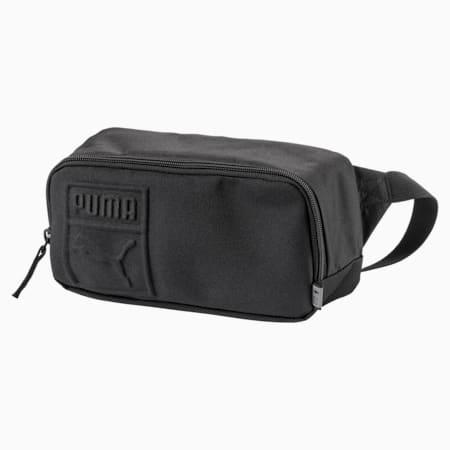 PUMA S Waist Bag, Puma Black, small-SEA