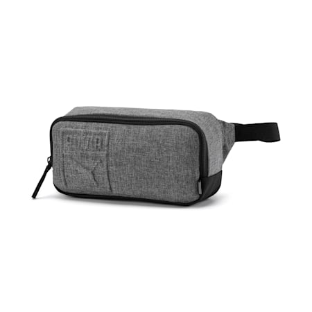 PUMA S Waist Bag, Medium Gray Heather, small