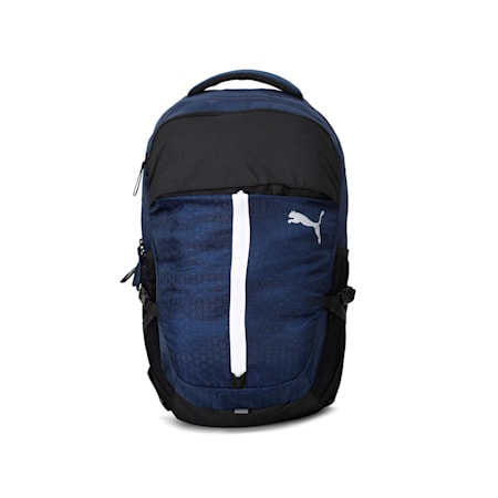 PUMA PWRcool Technology Apex Backpack, Peacoat, small-IND