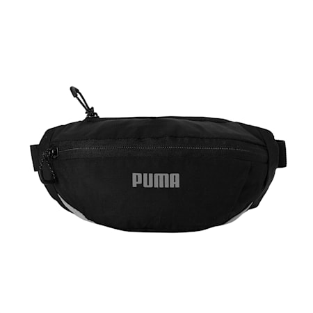 Classic Running Waist Bag, Puma Black, small-IND