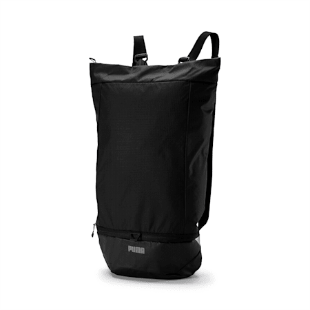 Street Running Packable Backpack, Puma Black, small-IND