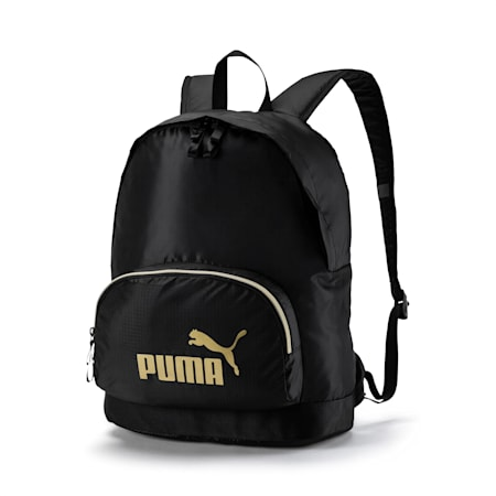 Seasonal Women's Backpack, Puma Black, small-IND