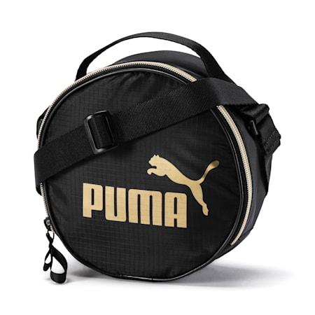 Women's Core Seasonal Round Case Bag, Puma Black, small-SEA