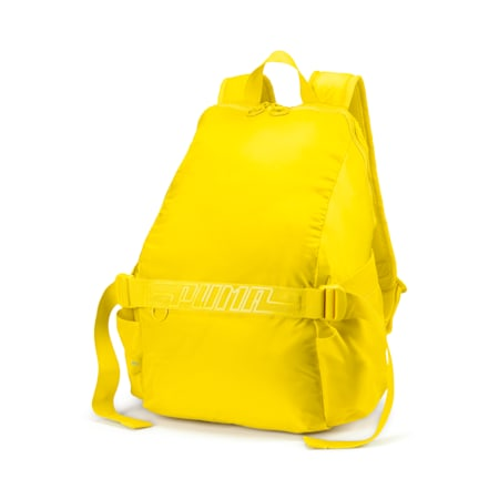 Cosmic Women's Training Backpack, Blazing Yellow, small-IND