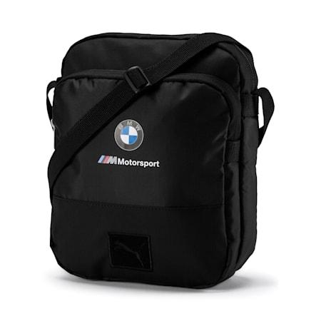 BMW M Motorsport Große Schultertasche, Puma Black, small