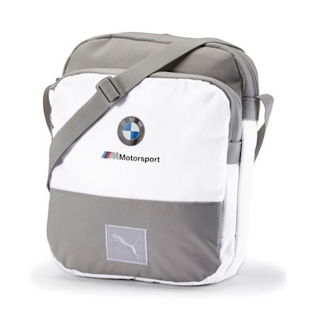 BMW M Motorsport Large Portable Bag, Puma White, small
