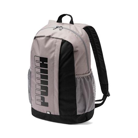 Plus II Backpack, Charcoal Gray-Puma Black, small