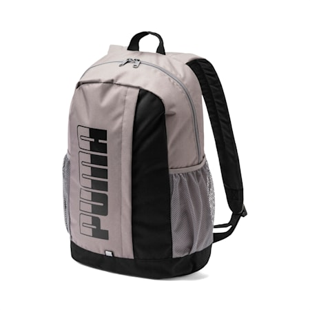 Plus II Backpack, Charcoal Gray-Puma Black, small-IND