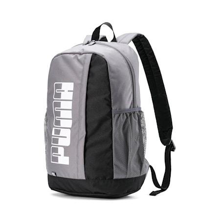 PUMA Plus Backpack II, CASTLEROCK-Puma Black, small