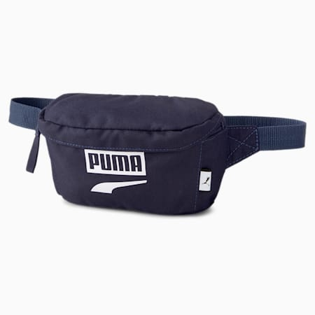 PUMA Plus Waist Bag II, Peacoat, small