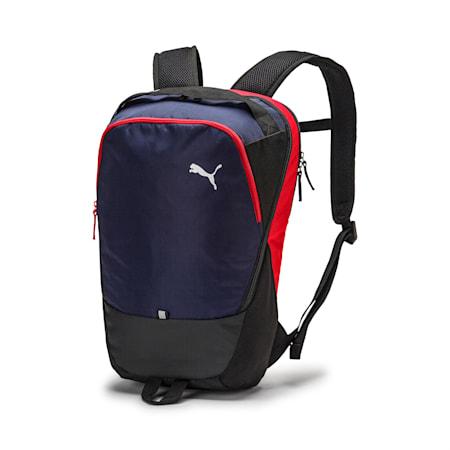 PUMA X Backpack, Peacoat-Puma Red-Puma Black, small-SEA