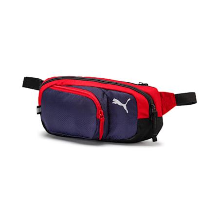 プーマ エックス マルチ ウエストバッグ 2.5L, Peacoat-Puma Red-Puma Black, small-JPN