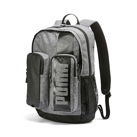 Deck Backpack II, Medium Gray Heather, small-IND