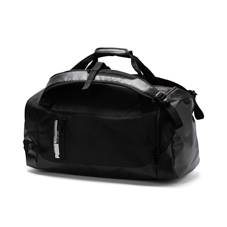 Energy 2-way Duffel Bag, Puma Black, small