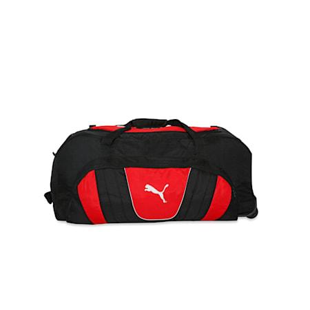 evoSPEED Cricket Wheelie Bag Ind Puma Bl, Puma Black-Puma Red, small-IND