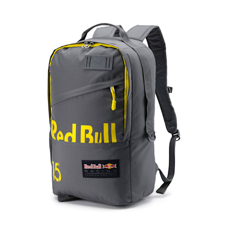 Red Bull Racing Lifestyle Backpack, Smoked Pearl-Blazing Yellow, small-IND