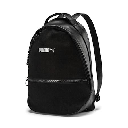 Premium Women's Backpack, Puma Black-Puma Black, small-IND