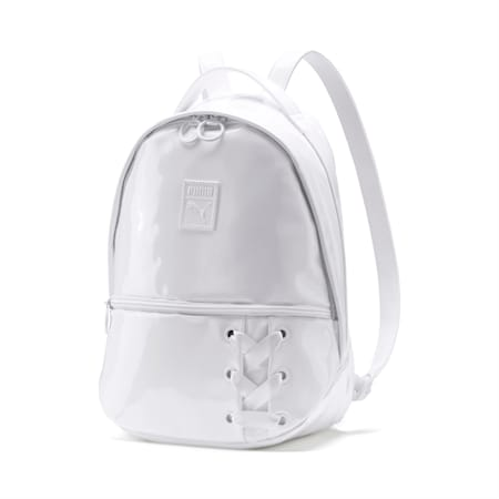 Prime Archive Crush Women's Backpack, Puma White, small-IND