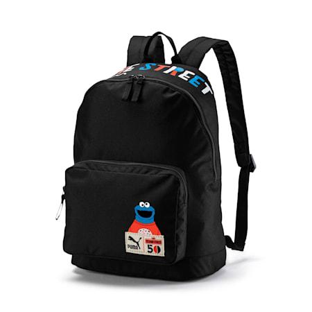 Sesame Street Kids' Backpack, Puma Black, small-IND