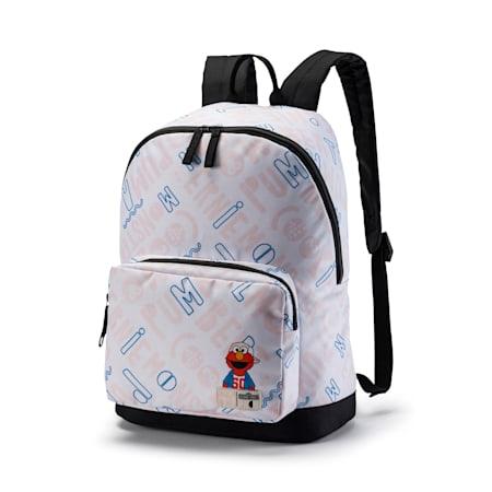 Sesame Street Kids' Backpack, Puma White, small-SEA