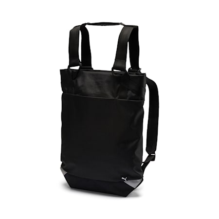 Relax Tote Backpack, Puma Black, small-IND