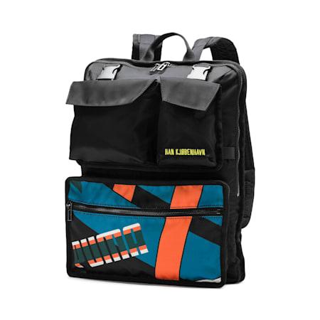 PUMA x HAN KJØBENHAVN Classic Backpack, Puma Black, small-SEA