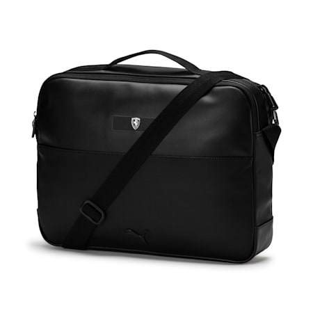 Ferrari Lifestyle Reporter Bag, Puma Black, small