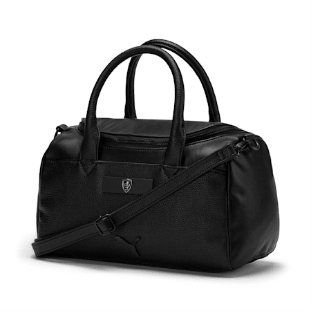 Ferrari Lifestyle Women's Handbag, Puma Black, small-IND
