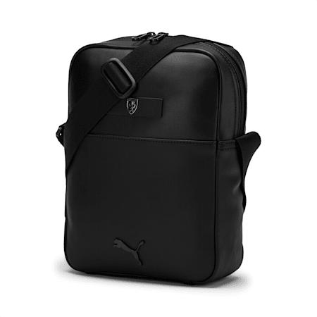 Ferrari Lifestyle Large Portable Bag, Puma Black, small