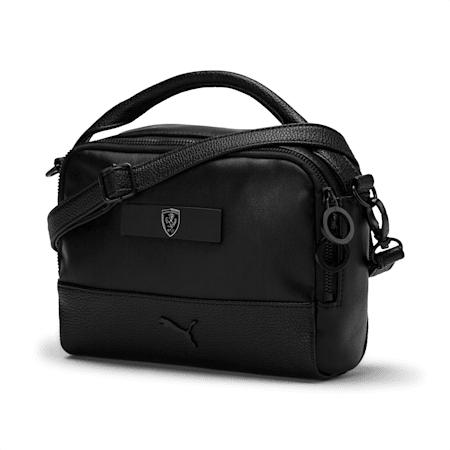 Ferrari Lifestyle Mini Women's Handbag, Puma Black, small-IND