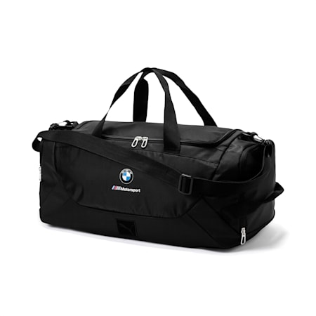 Bolso de lona BMW MMotorsport, Puma Black, pequeño