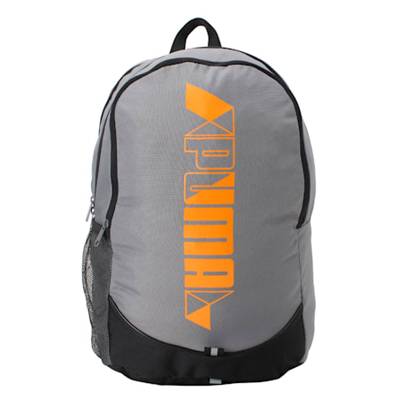 PUMA Pioneer Backpack IND, Steel Gray, small-IND
