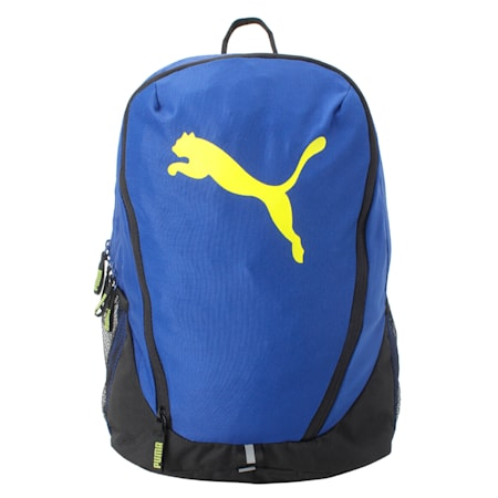 PUMA Cat Backpack IND, Sulphur Spring-Sodalite Blue, small-IND