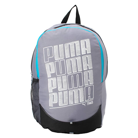PUMA Pioneer Backpack, Folkstone Gray, small-IND