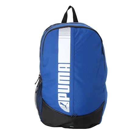 PUMA Pioneer Backpack IND, Mazarine Blue-Puma Black, small-IND